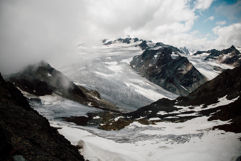 voir les glaciers de Sölden