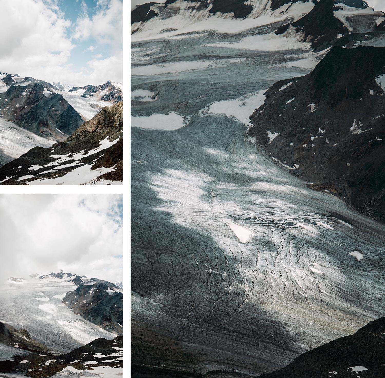 glaciers Autrichiens