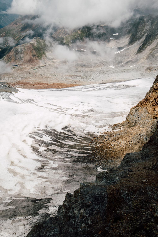 expérience : voir des glaciers de près