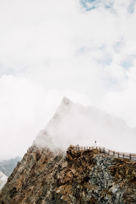 randonnée glaciers Tyrol