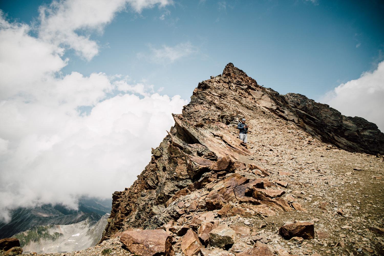 hiking Glaciers de Sölden Austria