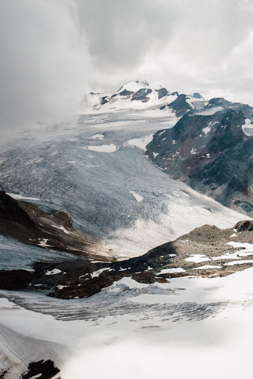 randonnée glacier Ötztal