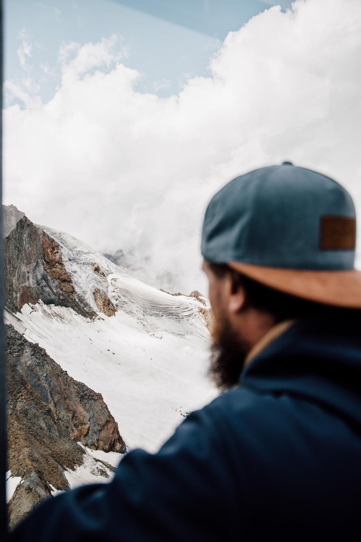 Glaciers Sölden travel blog
