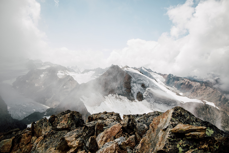 la magie des glaciers de Sölden