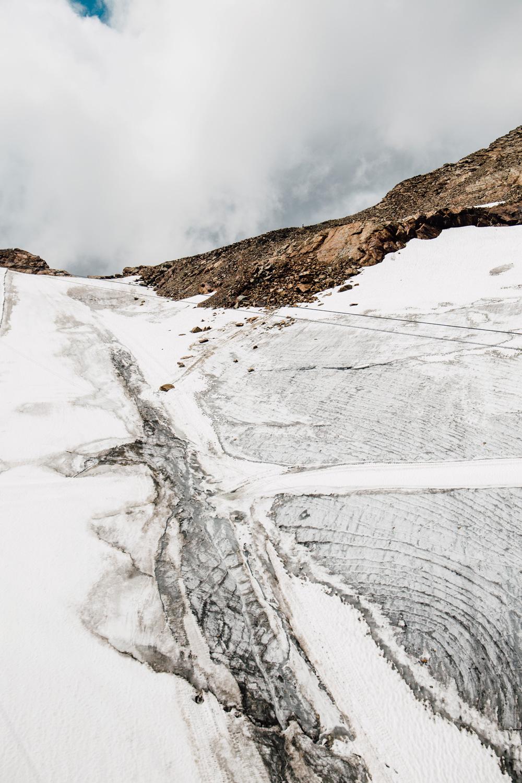 photographier des glaciers en Autriche