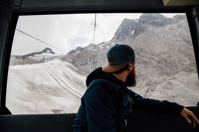 remonté mécanique glaciers de Sölden