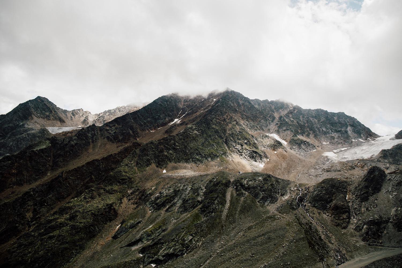 Ötztal glacier - Panoramic glacier road