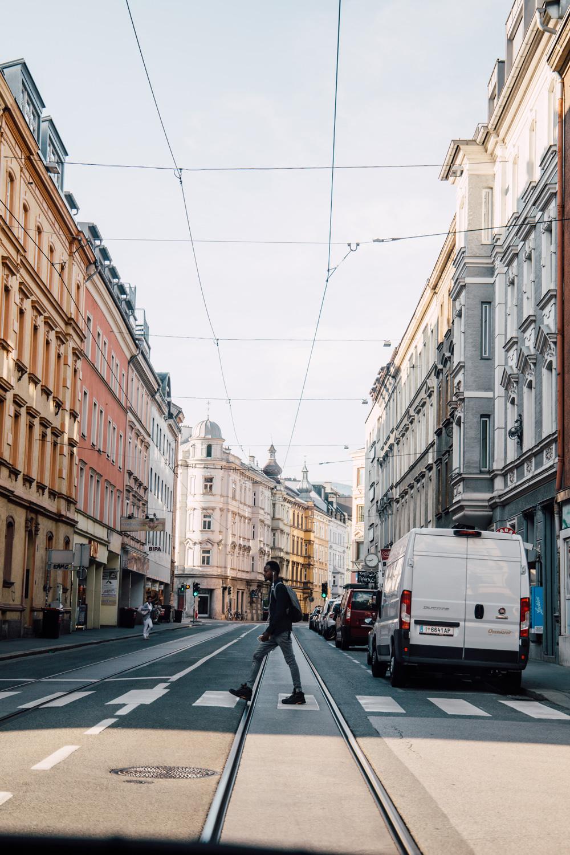 street of Innsbruck - Austria