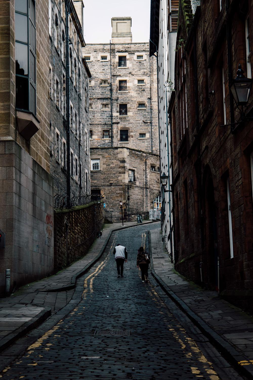 ruelle d'Old Town a Édimbourg