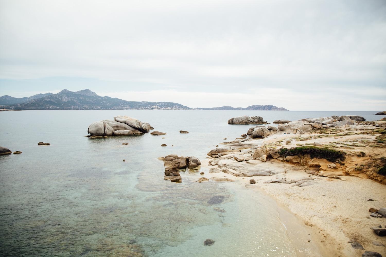 plage punta di spanu road trip corse