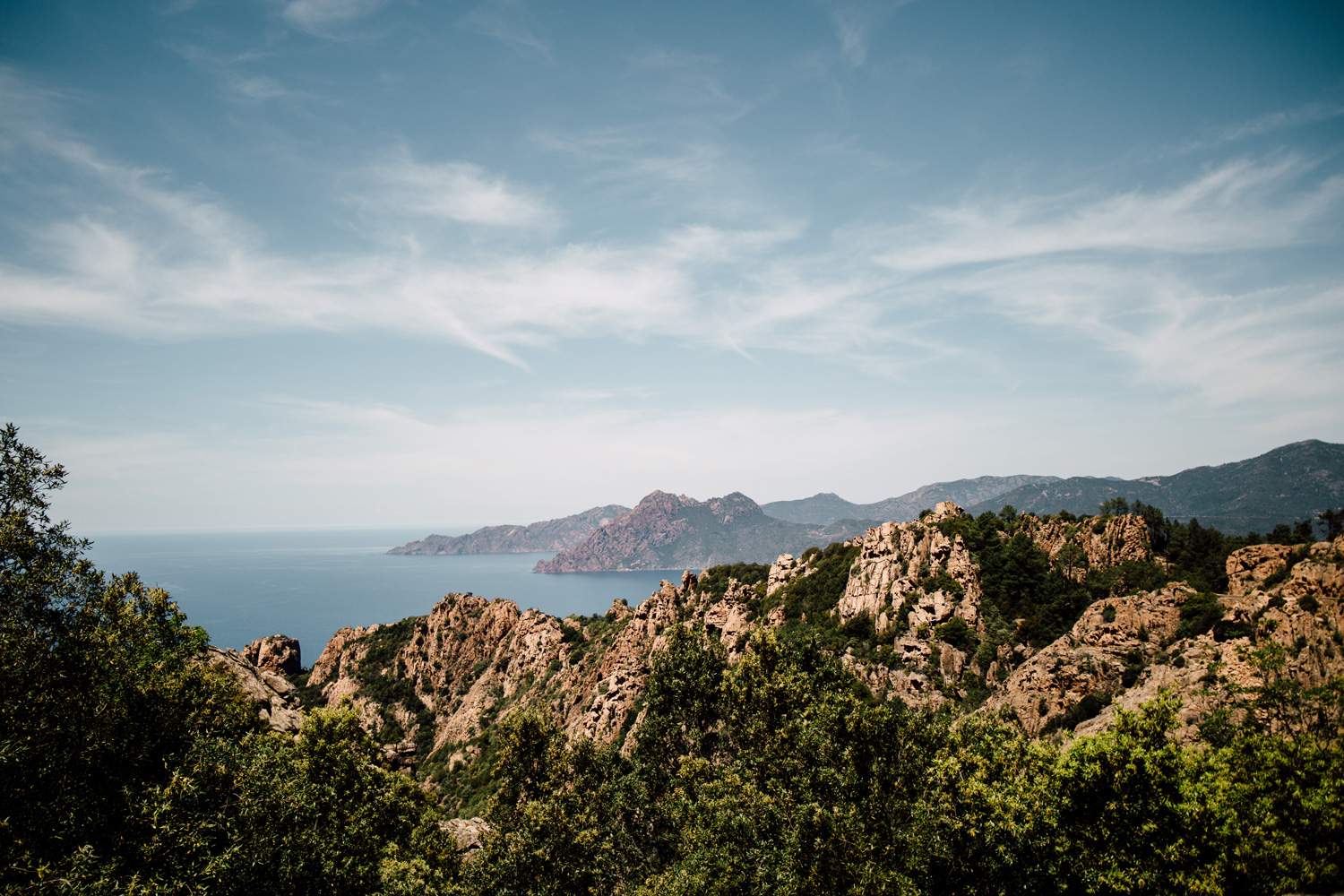 Road trip Corse - Calanques de Piana
