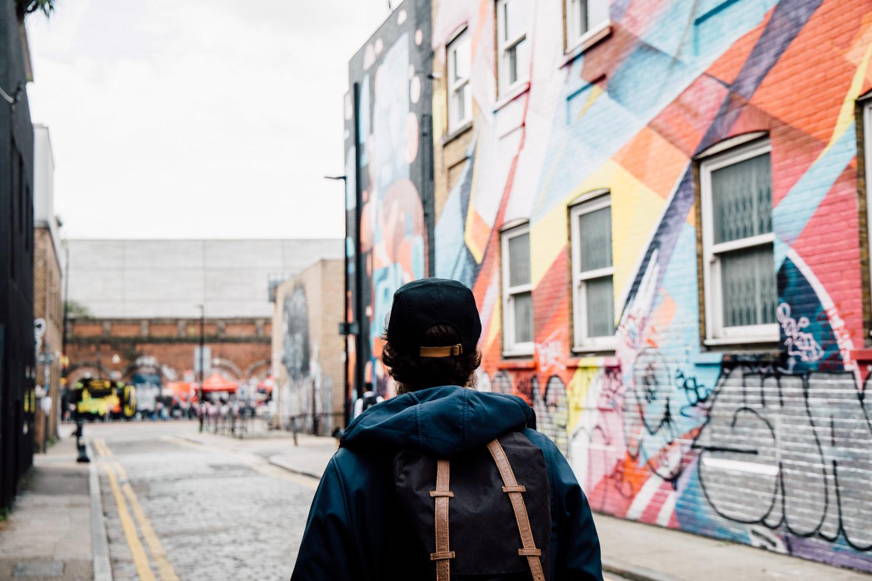 Londres street art blog voyage