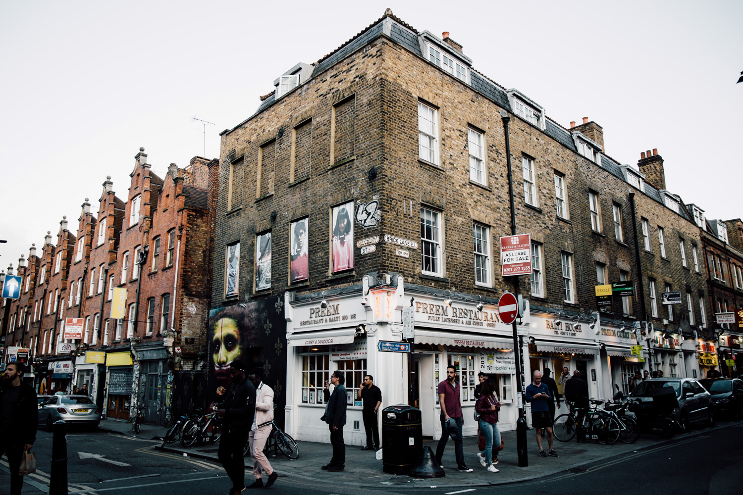 le quartier cool de Brick Lane