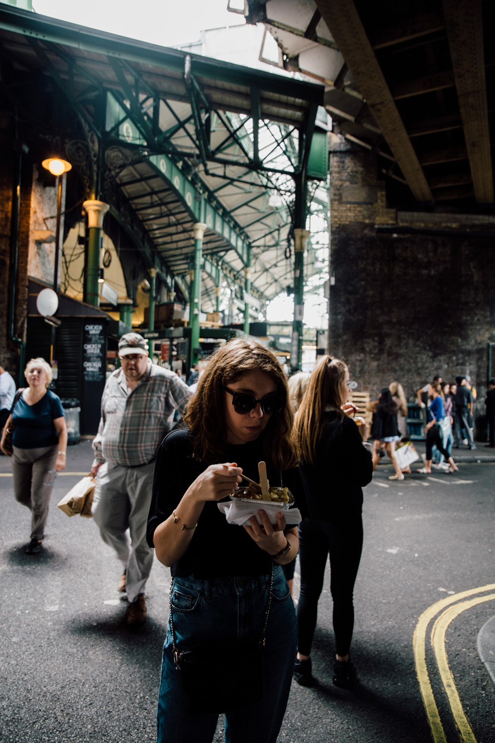 Borough Market - street food Londres