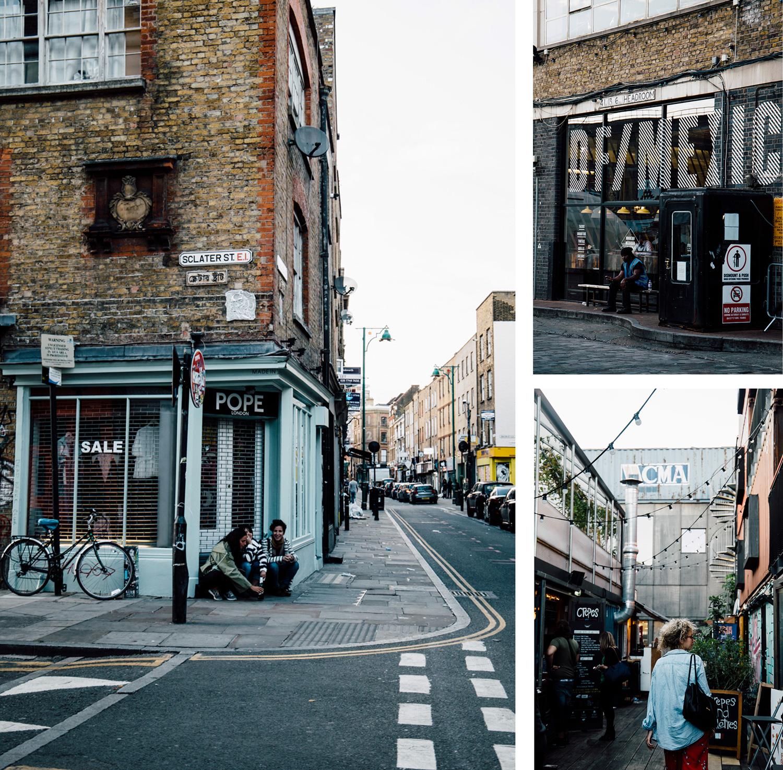 les rues de Londres