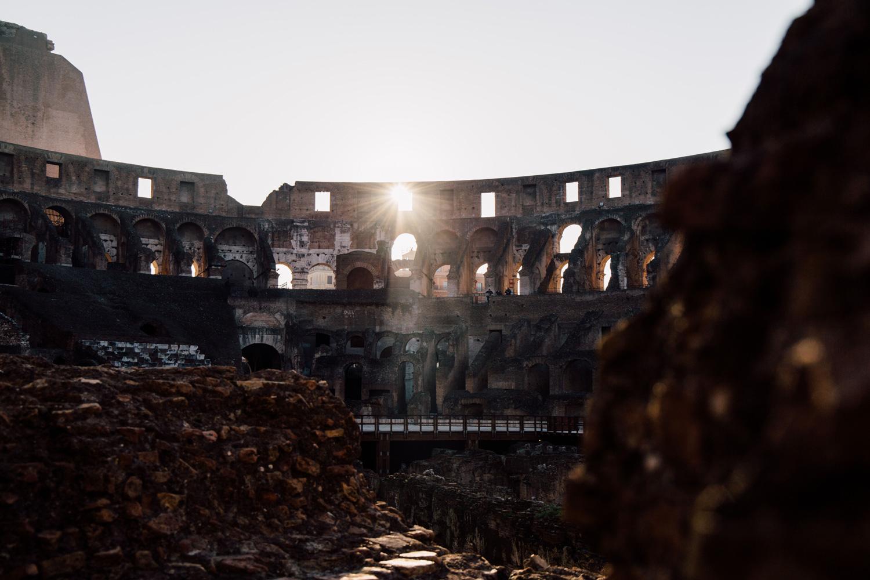 que visiter à Rome ? Le colisée