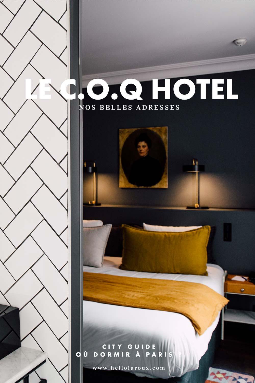 Coq hotel : où dormir à Paris pas cher dans une belle adresse ?