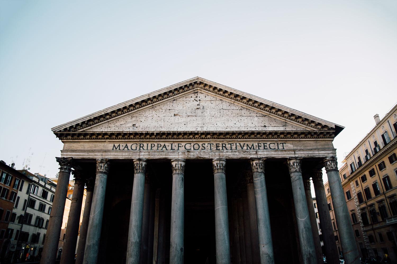visiter le panthéon de Rome