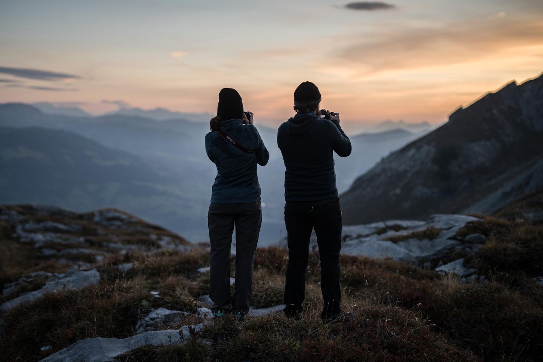 randonnée désert de platé Alpes blog