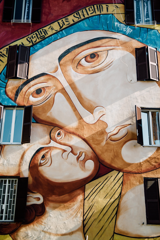 Murales Tor Marancia Rome