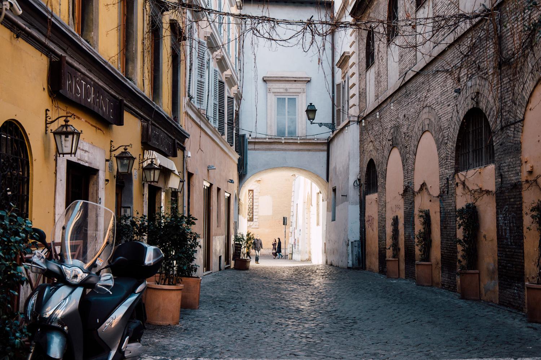 quartier de trastevere Rome