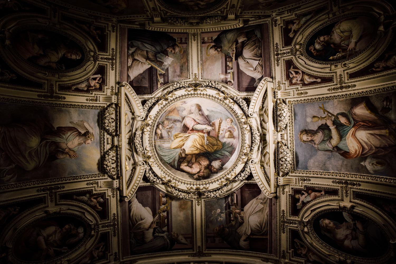plafond peinture vatican