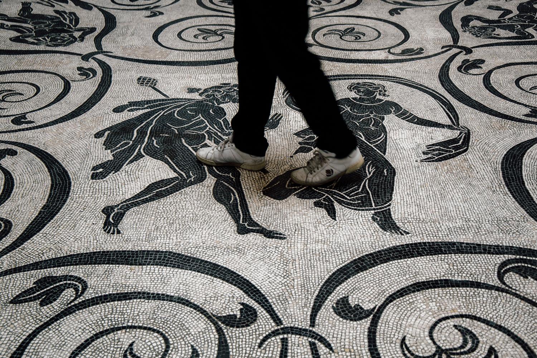 mosaiques du Vatican - visiter Rome