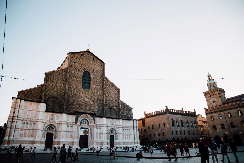 visiter Bologne en Émilie-Romagne - Basilique San Petronio