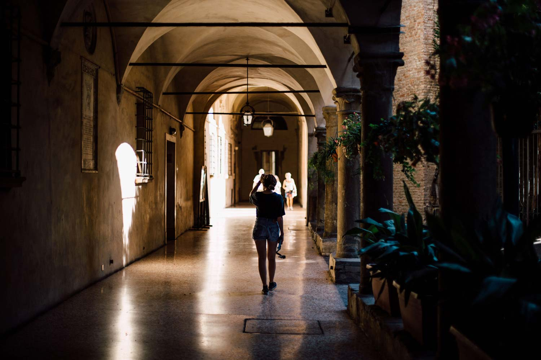 arcades voyage a Bologne