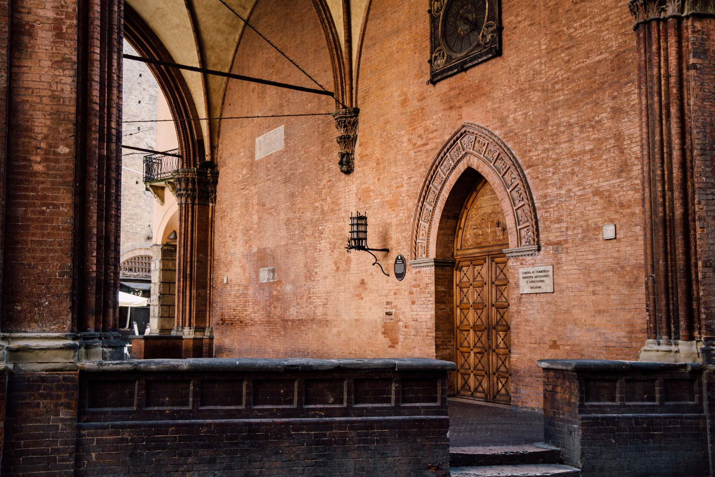 détail architectural Bologne