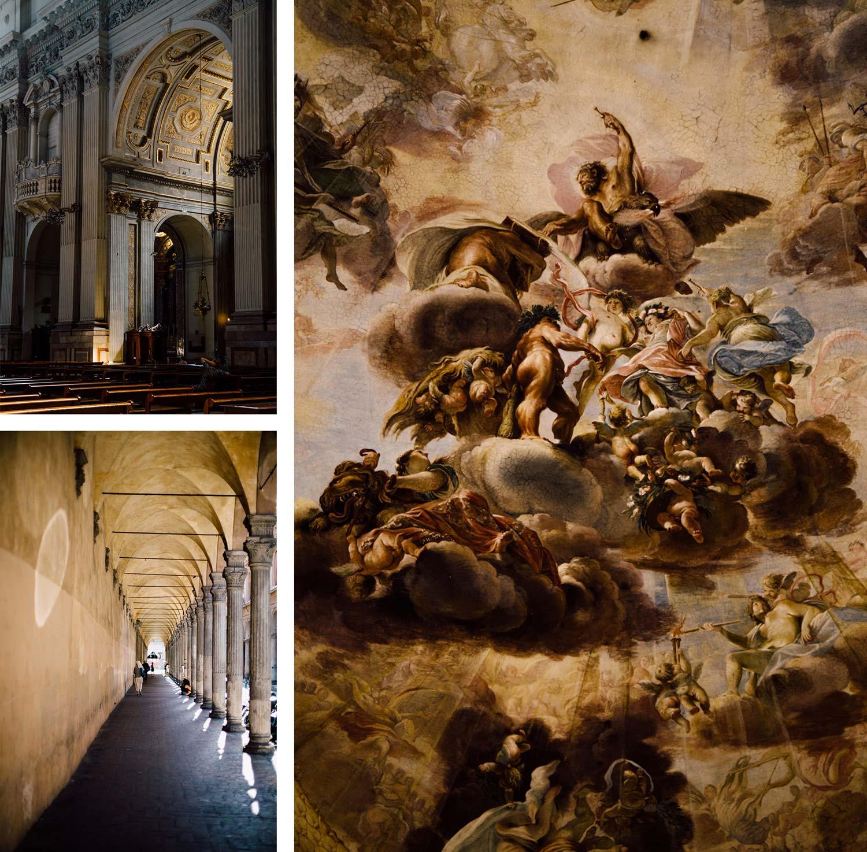édifices religieux Bologne Italie