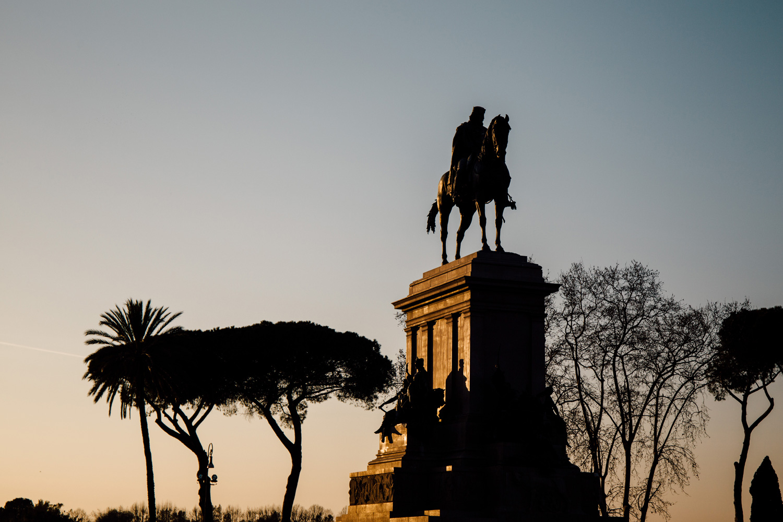 visiter Rome au coucher du soleil