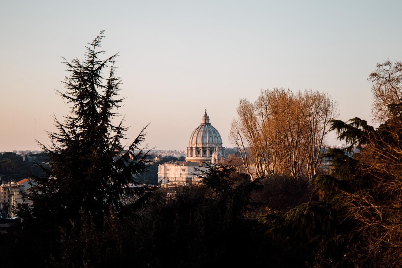 séjour romantique à Rome