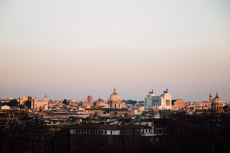 blog voyage : visiter Rome au coucher de soleil