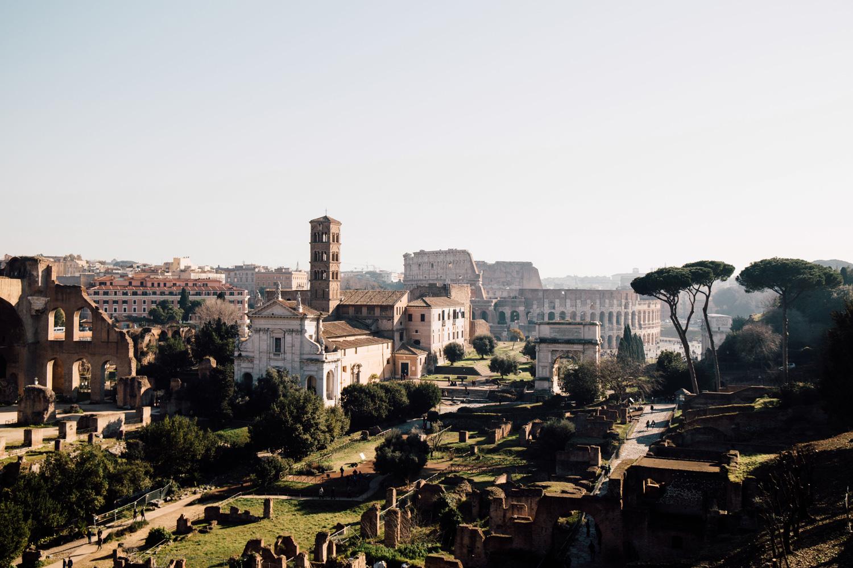 le Forum et le Palatin visiter Rome