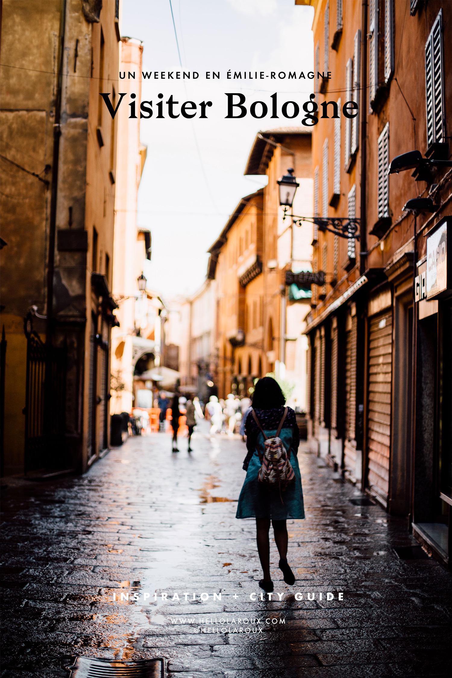 Que faire et que voir à Bologne ? Toutes mes idées et coups de cœur pour visiter Bologne en Émilie-Romagne !