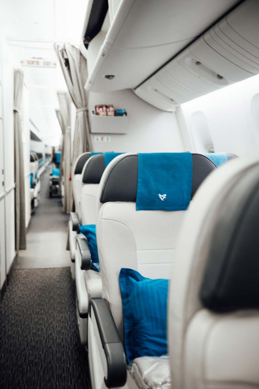 siège classe confort Air Austral