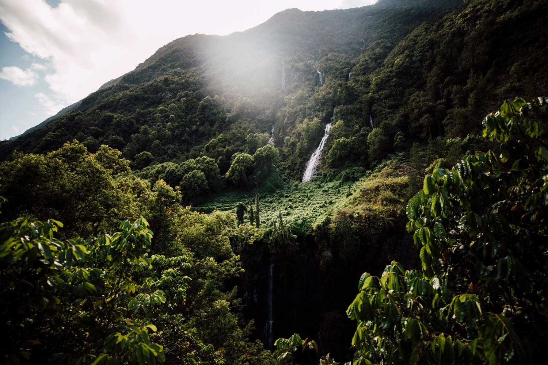 Voile de la Mariée, cascade La Réunion