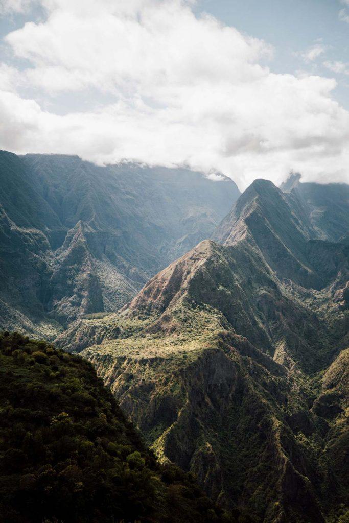plus belle vue de La Réunion