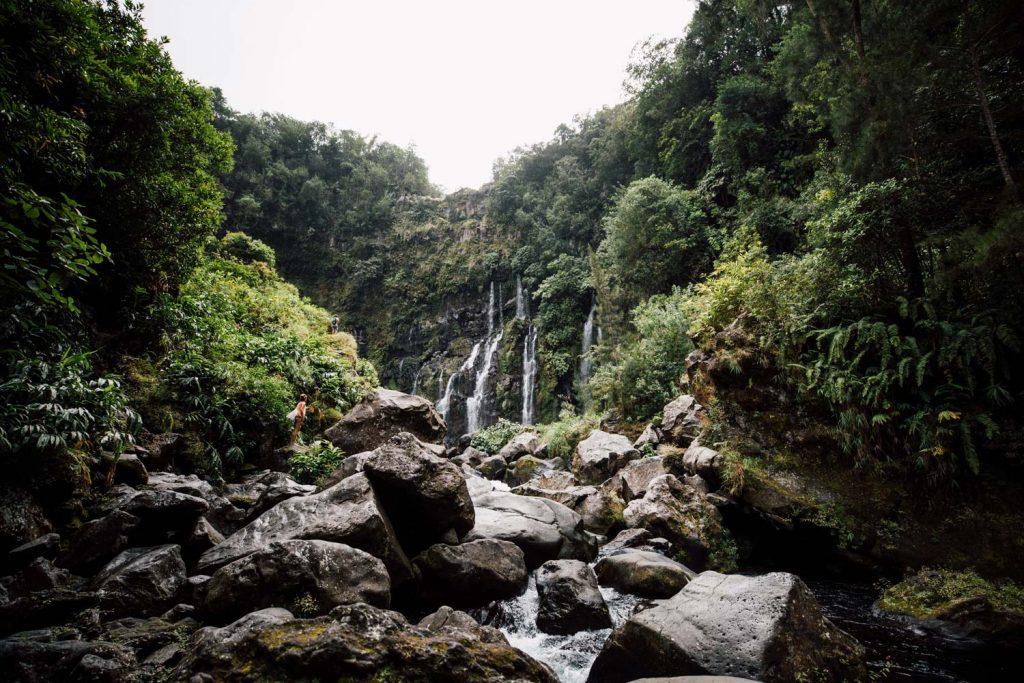 cascade grand galet La Réunion