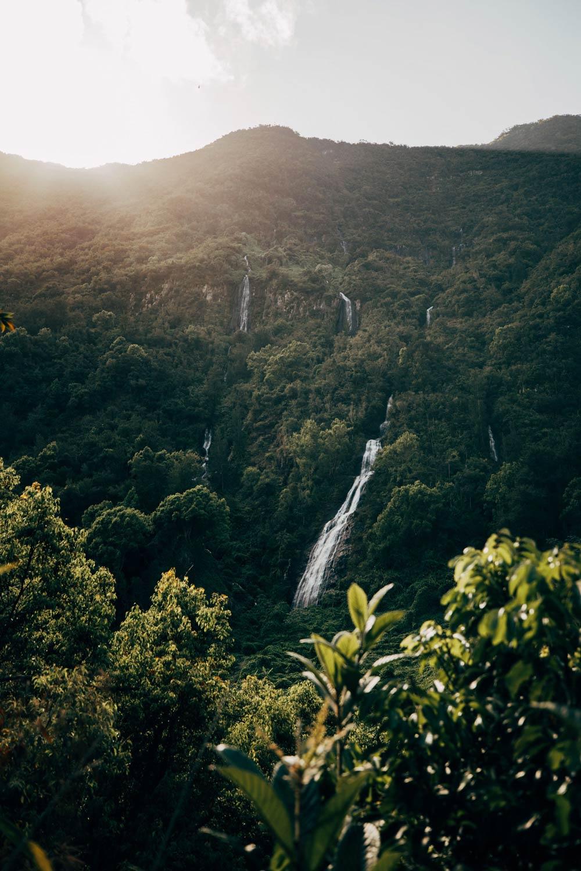visiter la Réunion cascades