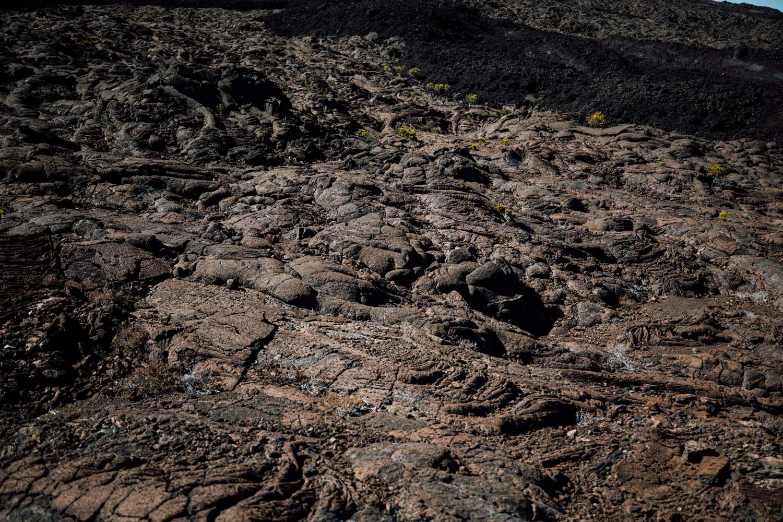 détail roche volcanique