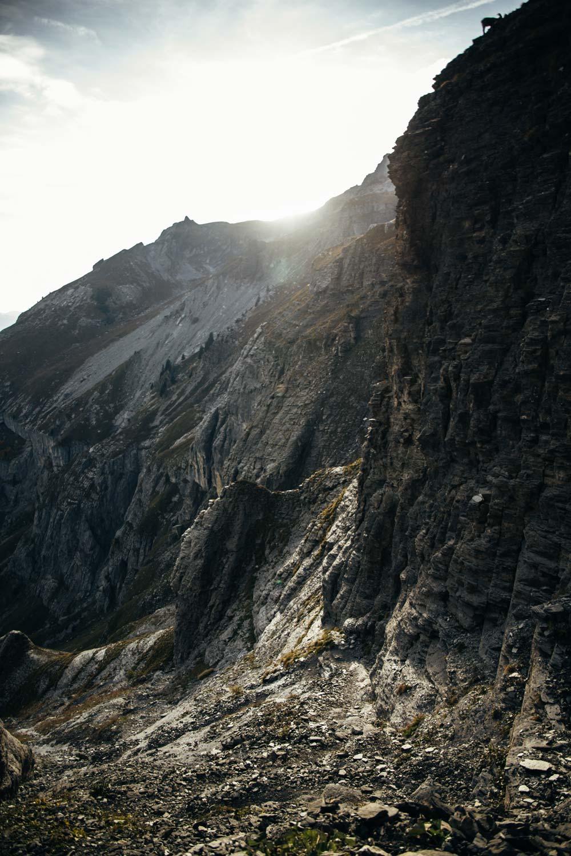 chemin randonnée haute-savoie