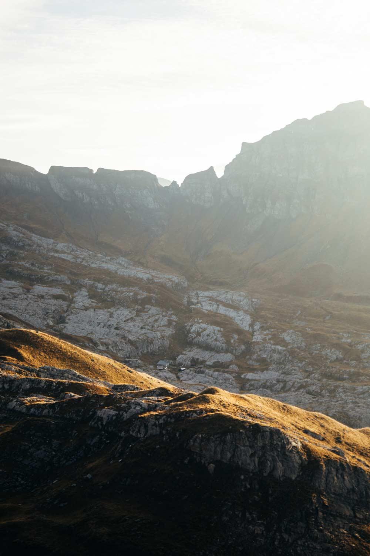 désert de platé randonnée Alpes
