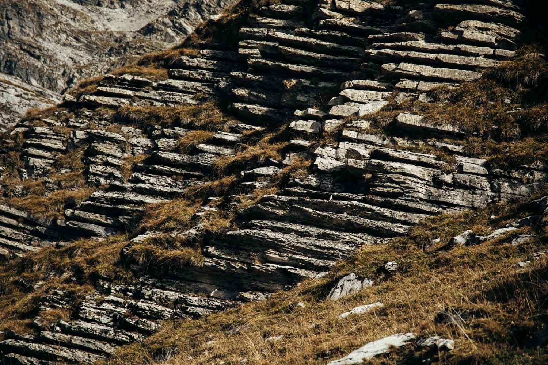 roche de haute montagne