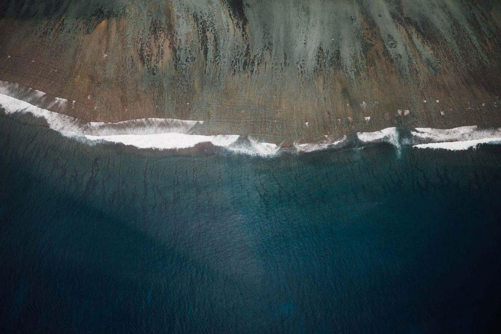 vol helico vue du lagon la réunion