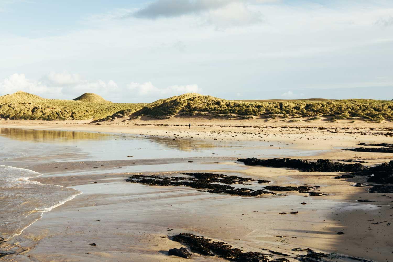 plage nord Écosse