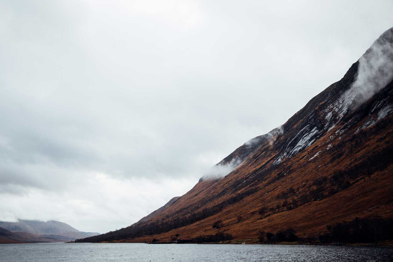 Loch Etive les Highlands