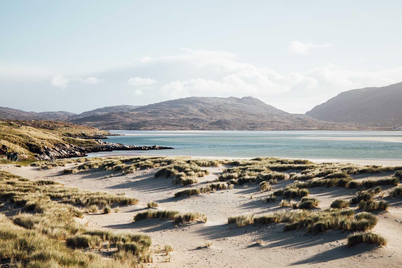 plage sable blanc ecosse