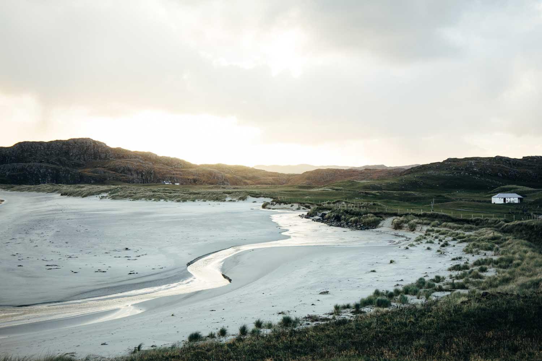 plus belle plage nord de l'Écosse Harris
